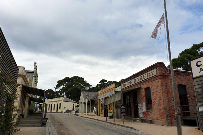 ballarat - sovereign hill