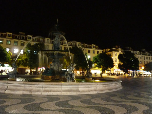 Lisbonne - place Rossio