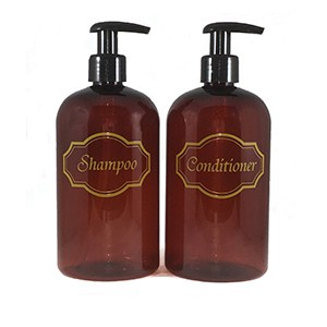 Amber 2 bottle set-Shampoo, conditioner