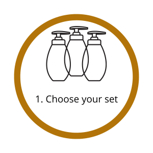 step 1, choose your set graphic