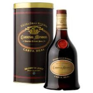 Brandy Cardenal Mendoza Carta Real Cl 70