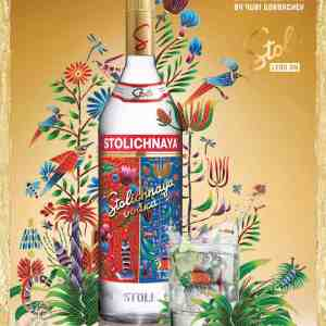 Vodka Stolichnaya Premium Limited Edition Gorbachev 70 Cl