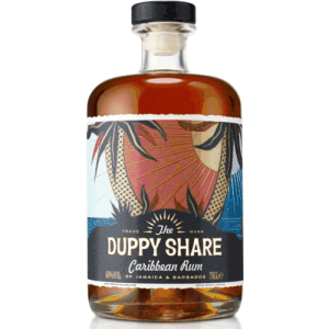 The Duppy Share Caribbean Rum 40% Cl 70