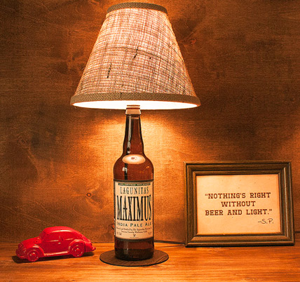 Bottle Lamps You Find On Etsy | How To Make A Bottle Lamp