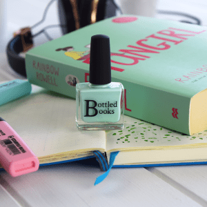 Bottled Books Fangirl nail polish