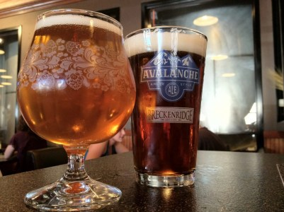 Breckenridge Brewery's Regal Pilsner & Irish Red Ale