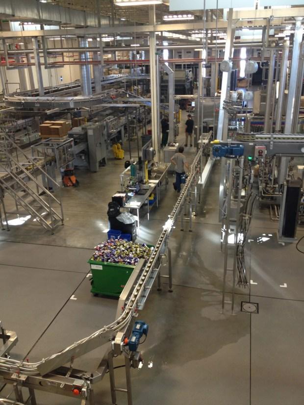 New Belgium canning line