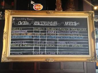 BierWerks Beer Selection