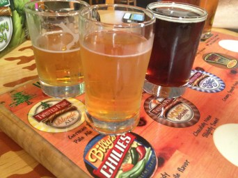 Three of our favorite samples at Twisted Pine