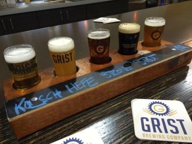 Grist's core beers sampler