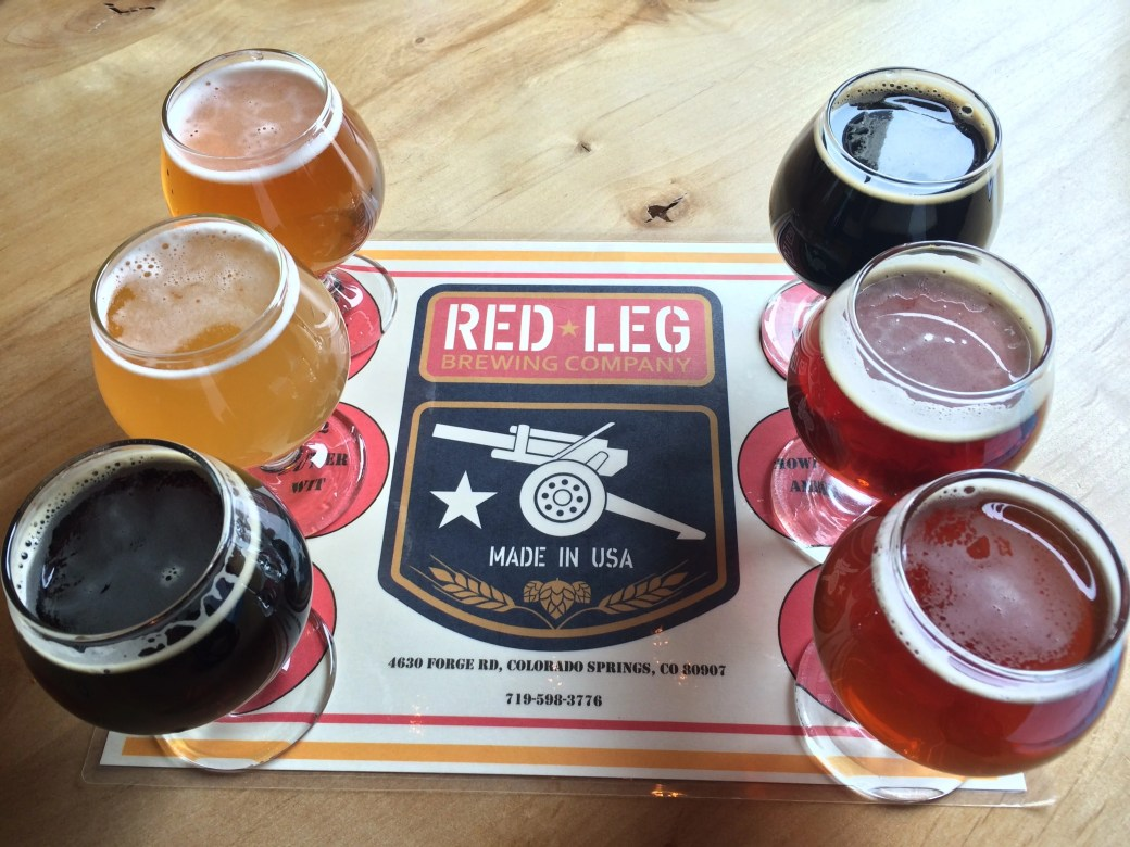 """The """"Front Line"""" at Red Leg Brewing"""
