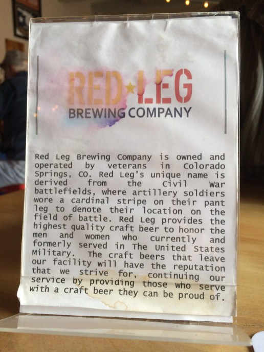 Story of Red Leg Brewing Company
