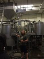Dieter shows us around Angel City Brewery