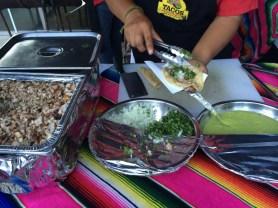 Those tacos! Oh, those tacos!