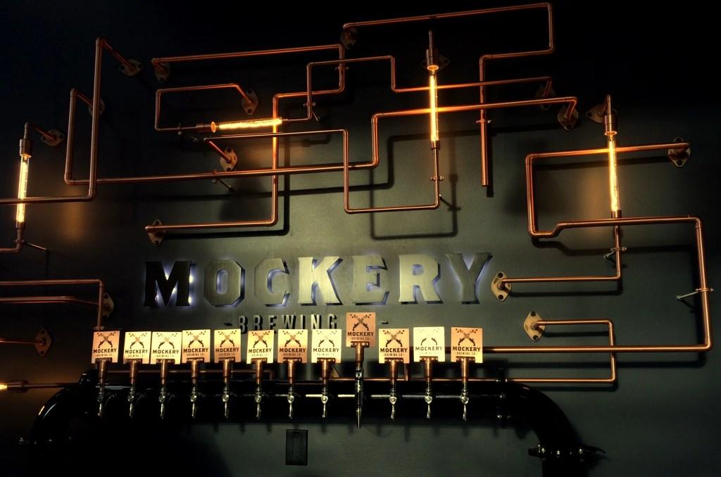 The fabulous design eliments at Mockery Brewing Co, Denver CO | BottleMakesThree.com
