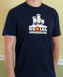 Best Colorado Beer Gifts: SOCIAL Membership and T-Shirt | Bottlemakesthree.com