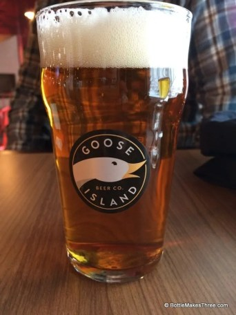 Goose Island IPA at the Anheuser Busch Biergarten, Fort Collins Co | BottleMakesThree.com