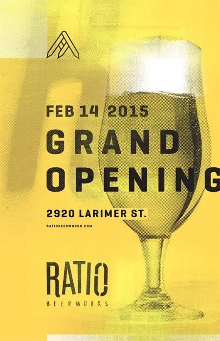 Ratio Beerworks Grand Opening, 2/14/2015. | Bottlemakesthree.com