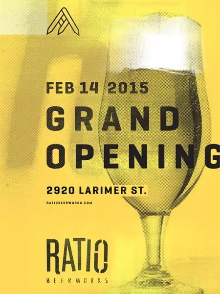 Ratio Beerworks Grand Opening, 2/14/2015. | Bottlemakesthree.com
