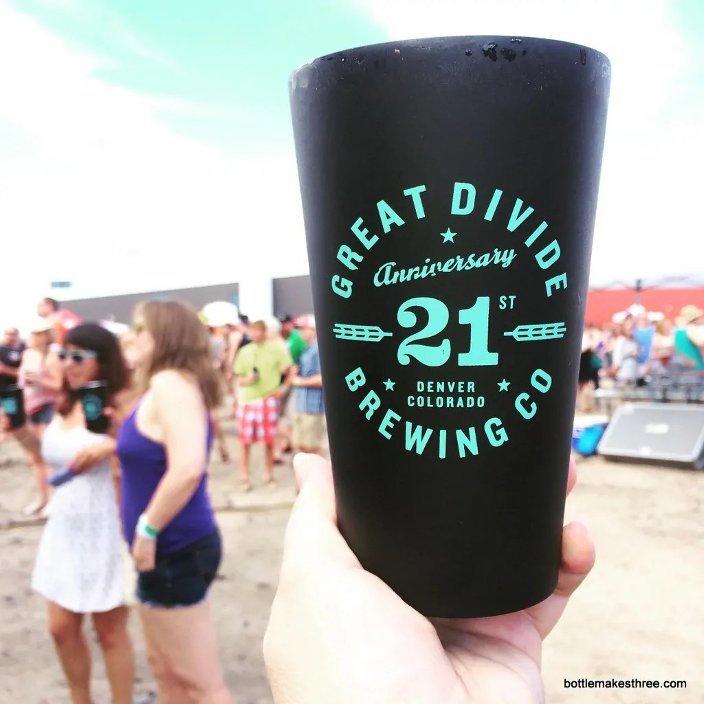 Great Divide 21st Anniversary | bottlemakesthree.com