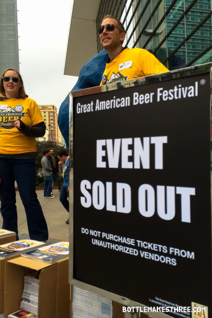 2015 GABF Tickets are Sold Out | BottleMakesThree.com