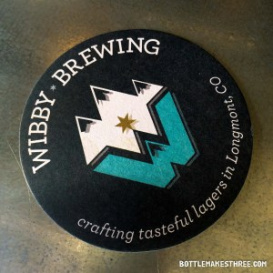 Wibby Brewing, a craft lager brewery in Longmont, Colorado | BottleMakesThree.com