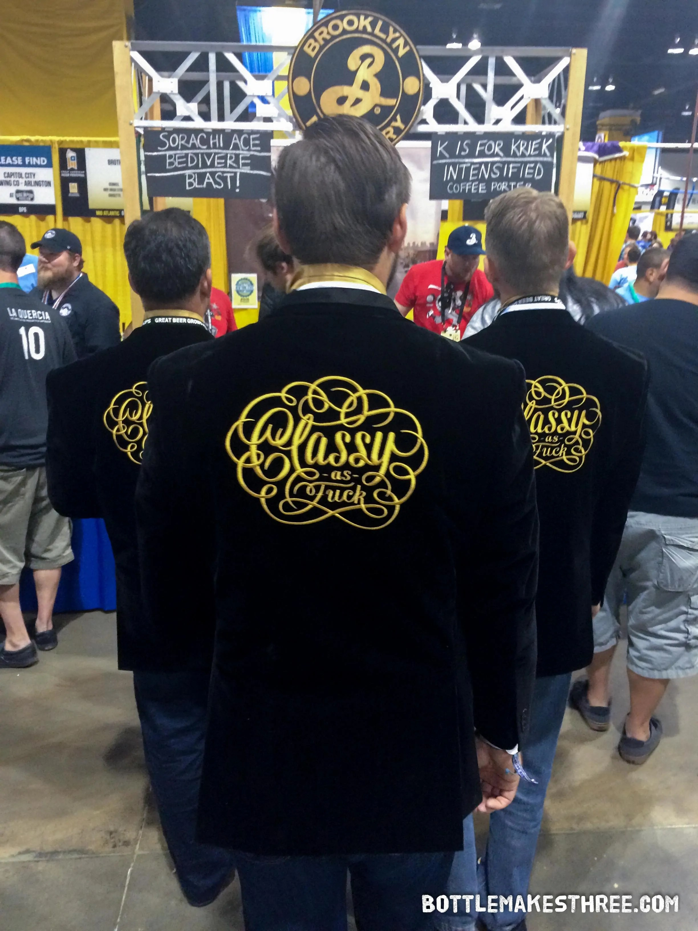 Experience everything the Great American Beer Festival (GABF) has to offer. Hint: It's more than just drinking beer. | BottleMakesThree.com