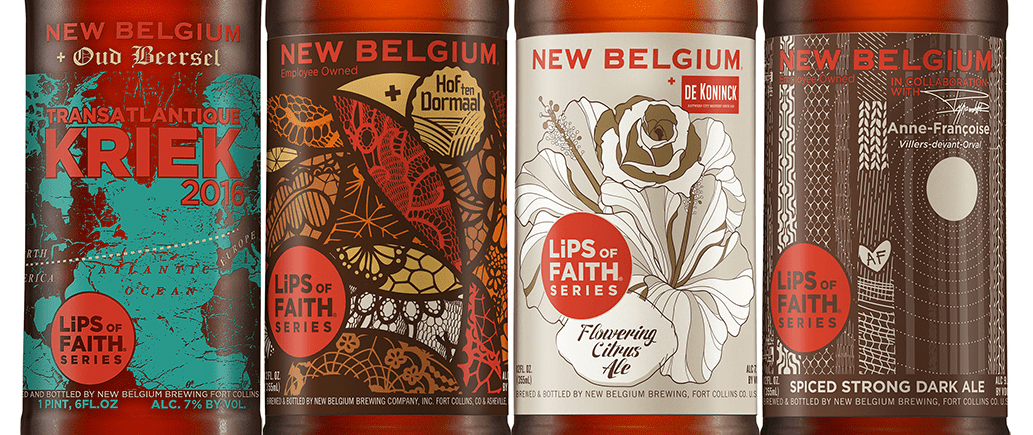 New Belgium Brewing's 2016 Lips of Faith collaboration beers | BottleMakesThree.com