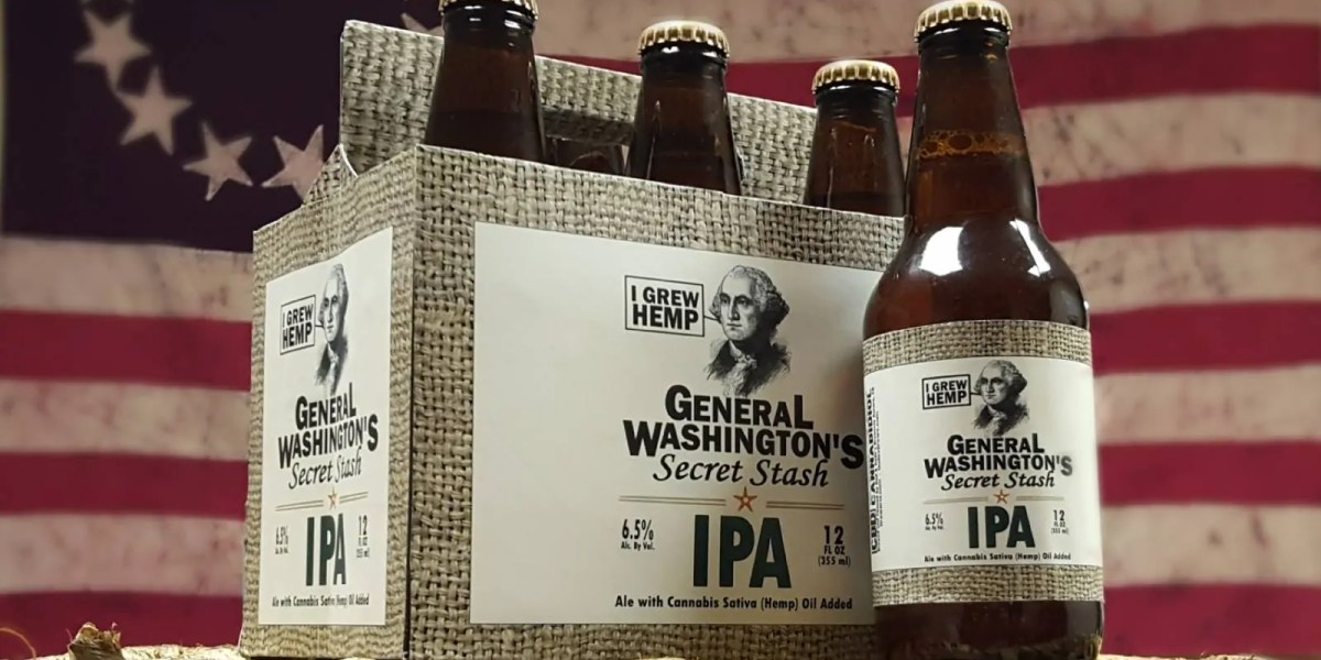 Dad and Dude's Breweria receives federal approval for cannabis-infused beer.