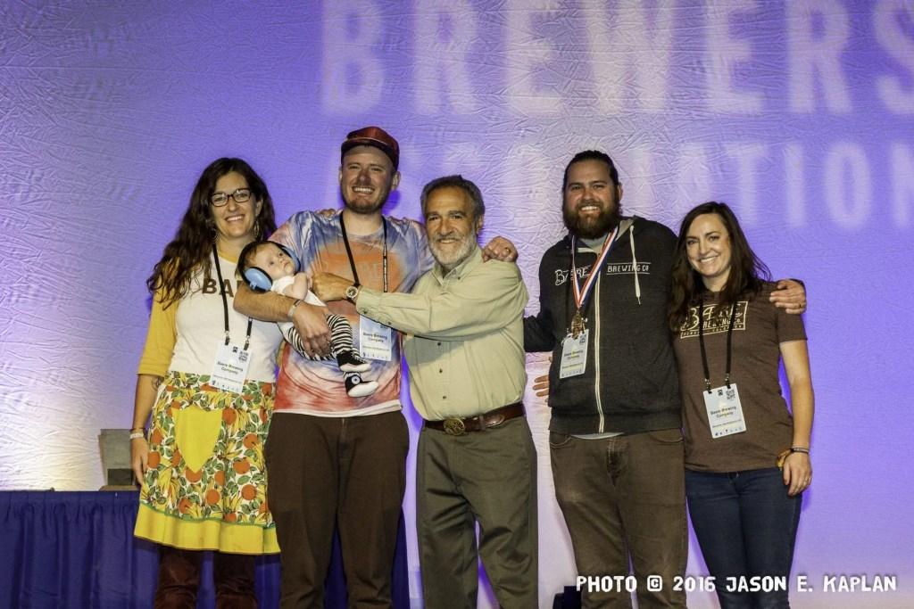 2016 GABF competition winner, Beare Brewing