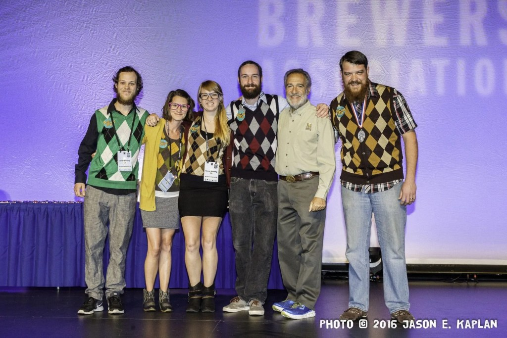 2016 GABF competition winner, Carver Brewing