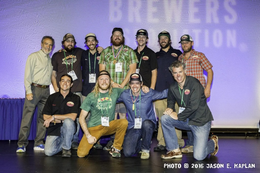2016 GABF competition winner, Telluride Brewing