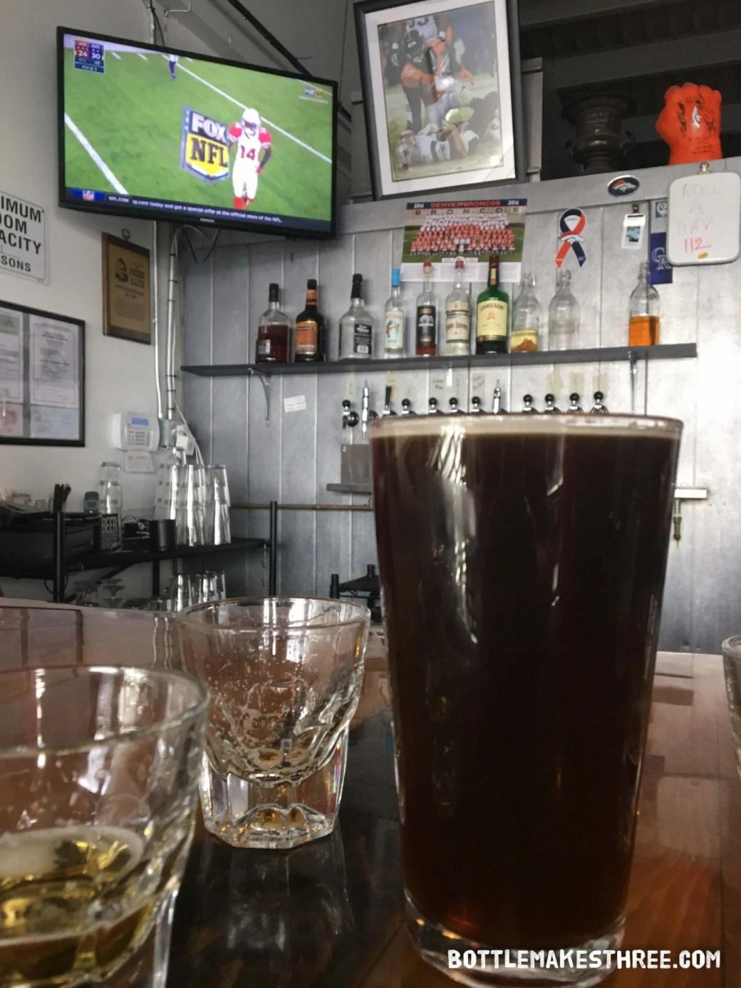 Creede Brewing Company in Denver, CO | BottleMakesThree.com