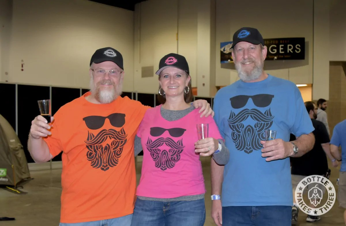 A few of the Burly Brewing Company folks at GABF 2017. Look for Burly Brewing Co to open in Castle Rock in early 2018 | BottleMakesThree.com