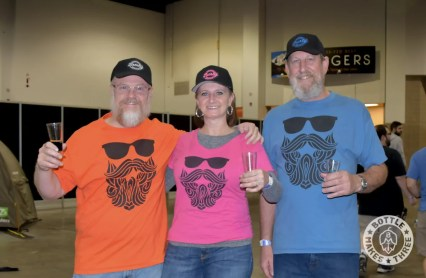 A few of the Burly Brewing Company folks at GABF 2017. Look for Burly Brewing Co to open in Castle Rock in early 2018   BottleMakesThree.com