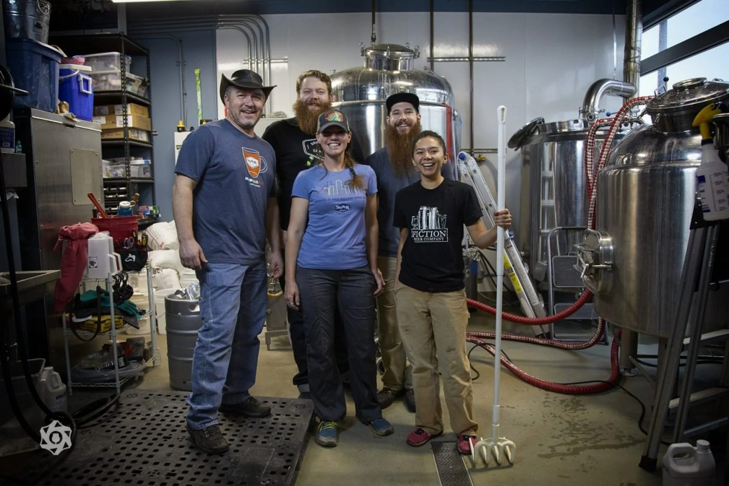 "Strange Craft Beer Company & Fiction Beer Co working on their beer for the 2018 Collaboration Fest, ""Stranger than Fiction"" 