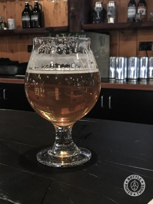 Pecan Pie Infused Blonde Ale at El Rancho Brewing Co | Experience Wonderful Views and Delicious Brews at El Rancho Brewing Company | BottleMakesThree.com