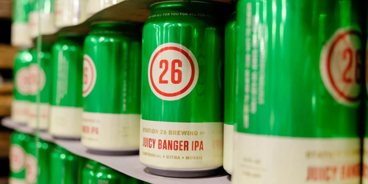 New in 6-Packs: Station 26 Brewing Company's Juicy Banger IPA | BottleMakesThree.com