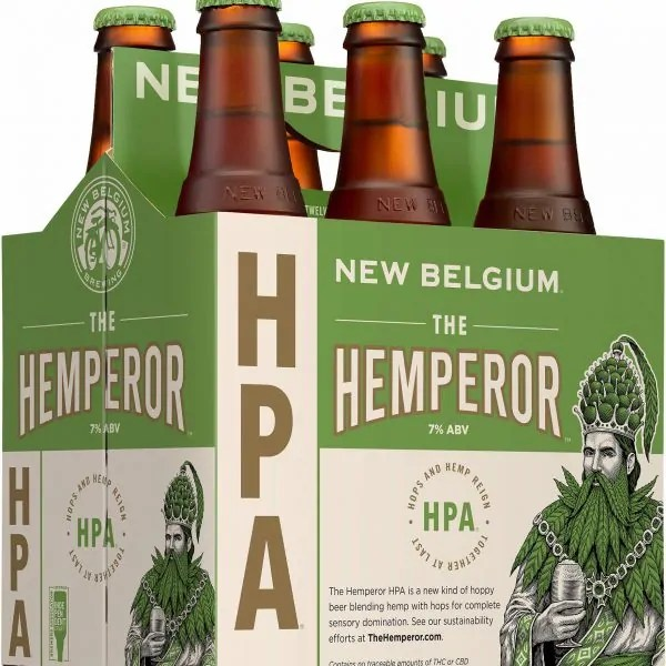 A look at New Belgium Brewing's latest release, The Hemperor HPA, and the challenges brewers face when creating a hemp beer.