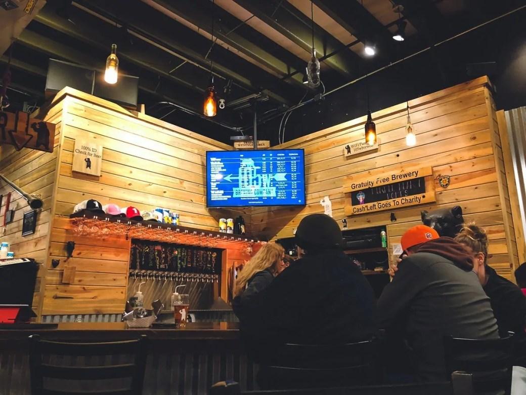 105 West Brewing Company, a craft brewery in Castle Rock, Colorado