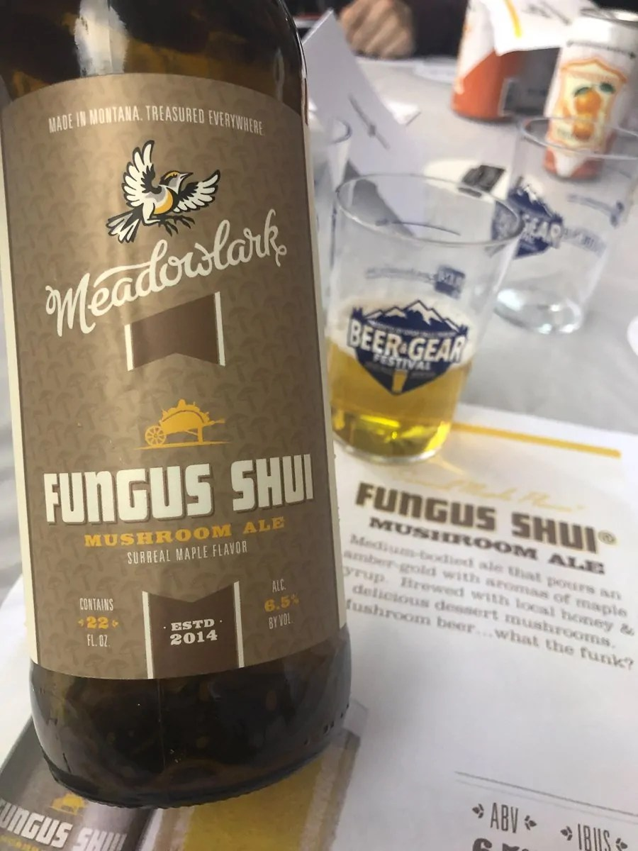Fungus Shui from Meadowlark Brewing in Sidney, MT