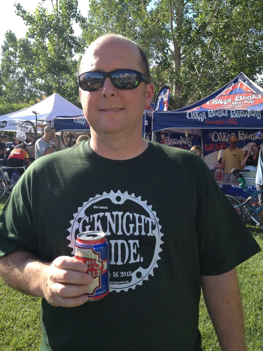 G'Knight Ride, sponsored by Oskar Blues, 2012