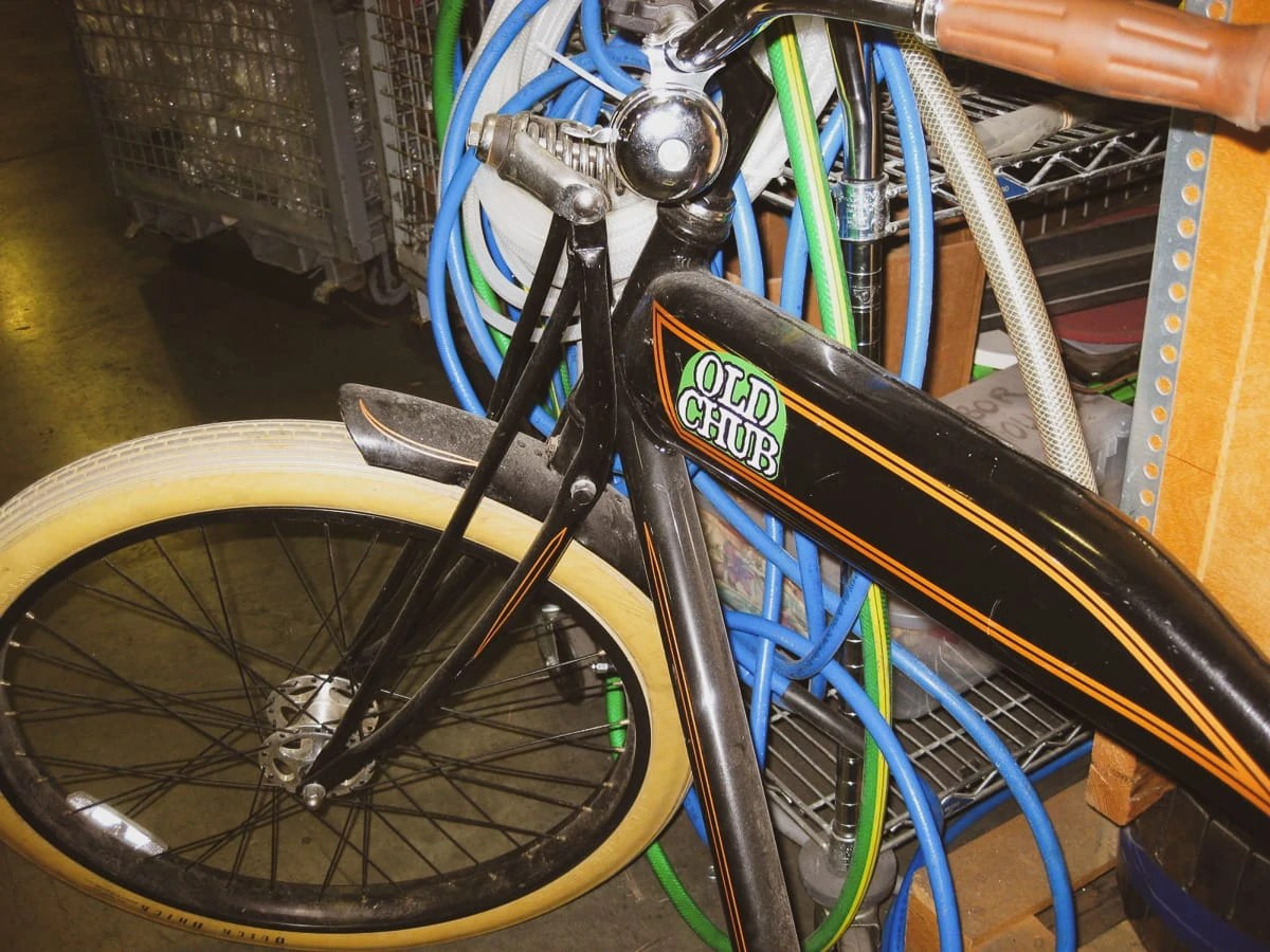 Bicycle at Oskar Blues Brewery