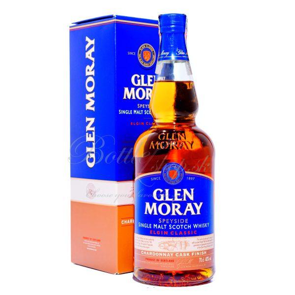 Glen Moray Single Malt 0,7 l – to je pôvabný, dvakrát destilovaný Speysider, zrejúci 8 rokov v sudoch po bourbone…