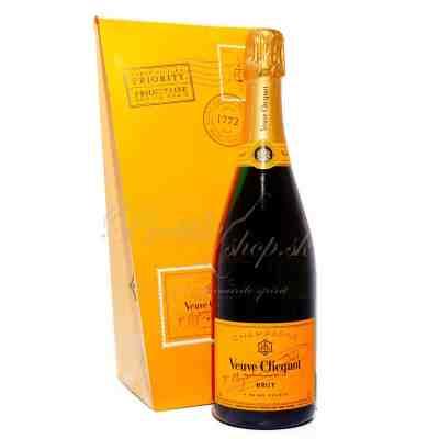Veuve Clicquot Ponsardin Brut Ice Letter Edition 0,75l 12%