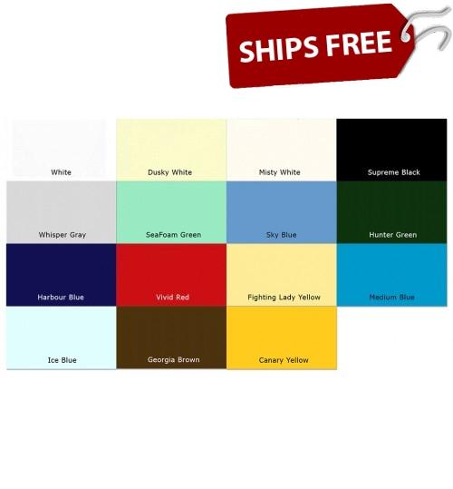 Marine Gel Coat Color Chart