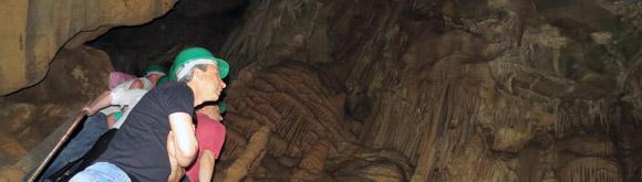 Parque das Grutas - conheca as cavernas