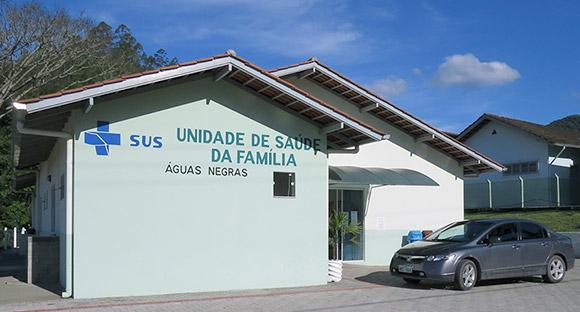 Unidade de Saúde da Família - Águas Negras. Estrada Geral Águas Negras, S/N.
