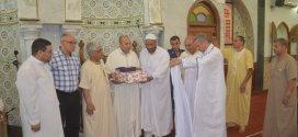 ادارة الشؤون الدينية والمنطمةالوطنية للحفاظ على الذاكرة  تكرمان الامام المجاهد قدور دحيري رحمه الله