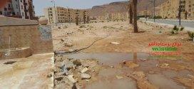 بوسعادة تعاني ندرة المياه الصالحة للشرب … والمياه تضيع في الشوارع
